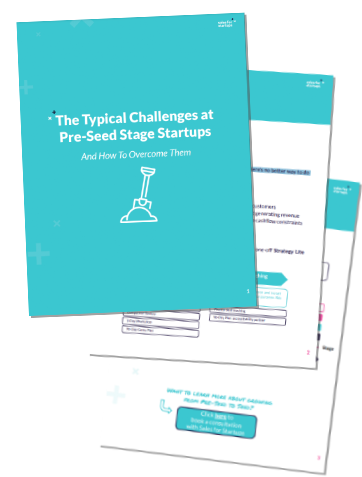 The Typical Challenges at Pre-Seed Stage Startups
