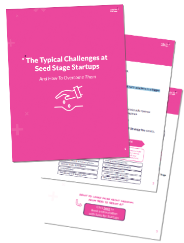 The Typical Challenges At Seed Stage Startups
